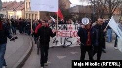 Prosvjedi u Tuzli