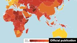 Mapa korupcije Transparency Internationala