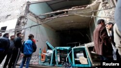 Наслідки вибуху у Багдаді, 26 листопада 2013 року