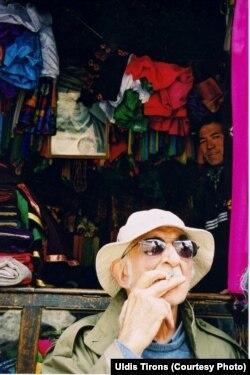 Пятигорский в Ладаке, Индия. 2002 г. Фото Улдиса Тиронса
