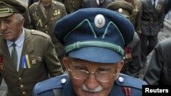 Ветеран УПА під час святкування Дня героїв у Львові, 24 травня 2010 року