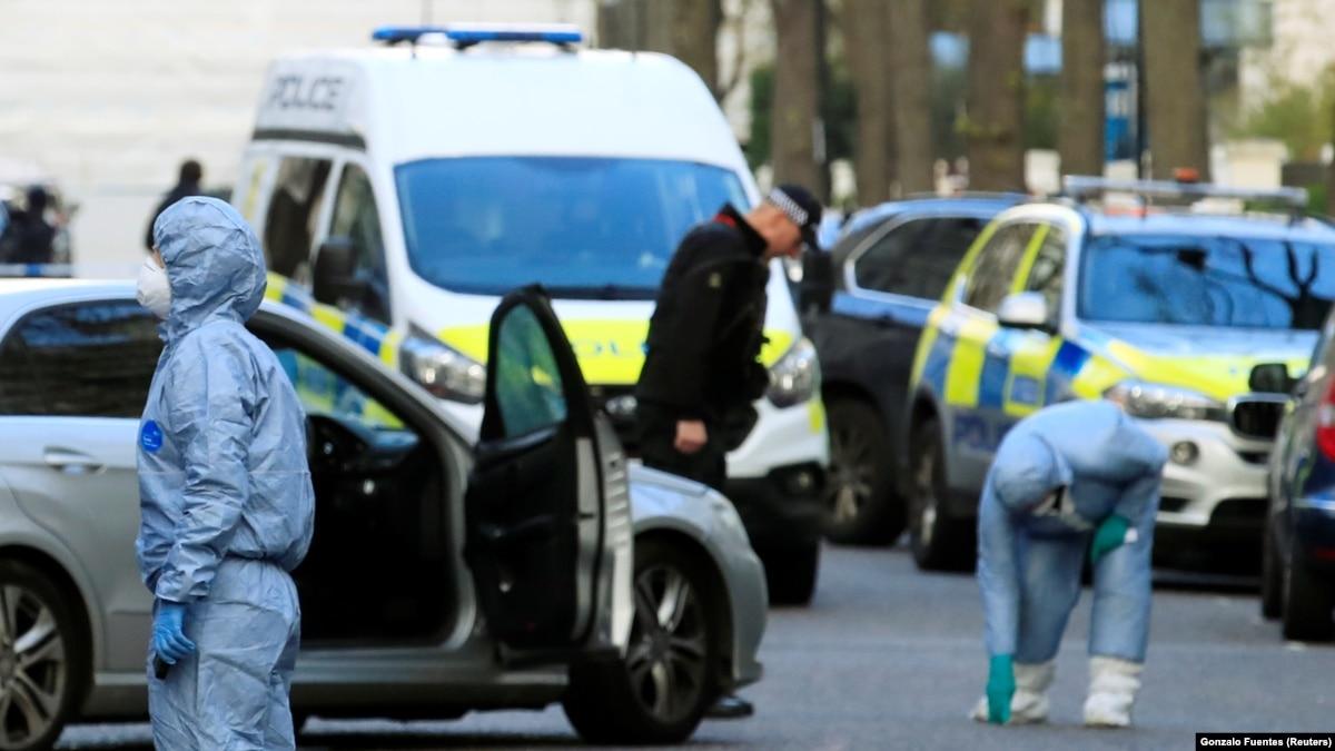 Полиция Лондона рассказала, что сделали с нападающим на авто посла Украины в Британии