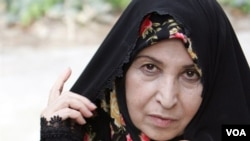 Zahra Rahnavard, wife of Iran's presidential candidate Mirhossein Mousavi. UNDATED