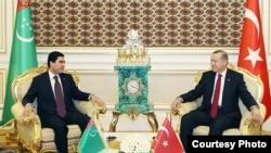 Türkmen we türk prezidentleri, 7-nji noýabr, 2014