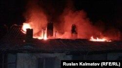 Таш-Көмүр шаарындагы өрт, 21-декабрь 2015-жыл.