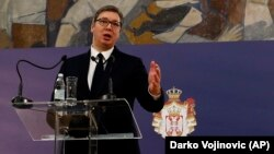 Serbian President Aleksandar Vucic announced the elections on March 4.