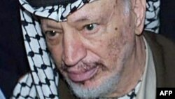 Палестинский лидер Ясир Арафат в 2000 году.