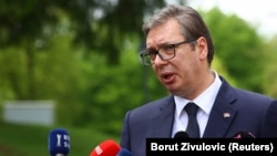 Predsednik Srbije Aleksandar Vučić, maj 2021.
