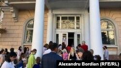 Moldova: început de an școlar la Chișinău, 1 septembrie 2020.
