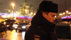 Emergency Services At Scene Of Nemtsov Killing