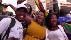 Мугабе истеъфога кетганидан халқ хурсанд