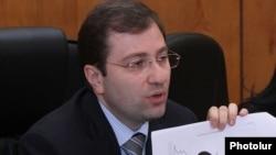 Министр финансов Армении Давид Саргсян