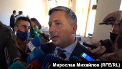 Иво Прокопиев в залата на Специализирания наказателен съд, юни 2020 г.