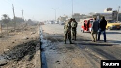 IS has claimed responsibility for several other attacks in Iraq in recent days, as Iraqi government forces and its allies push to recapture the city of Mosul, which is the last major IS stronghold in the country.