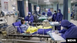 Iranian hospitals are reporting shortage of beds and ventilators after a spike in COVID-19 deaths in July.