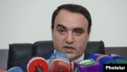 Лидер партии «Армянское возрождение» Артур Багдасарян (архив)