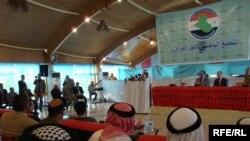 جانب من مؤتمر التجمع الوطني لأهل العراق في بغداد، 20 تشرين الأول 2009
