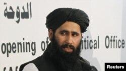 محمد نعیم سخنگوی دفتر سیاسی طالبان در قطر