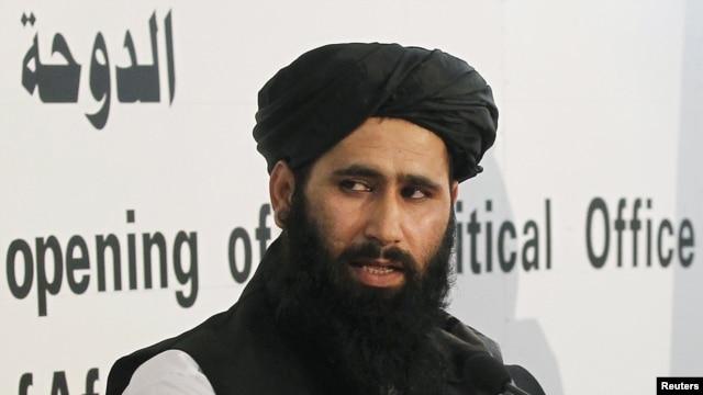 Taliban spokesman Mohammad Naeem