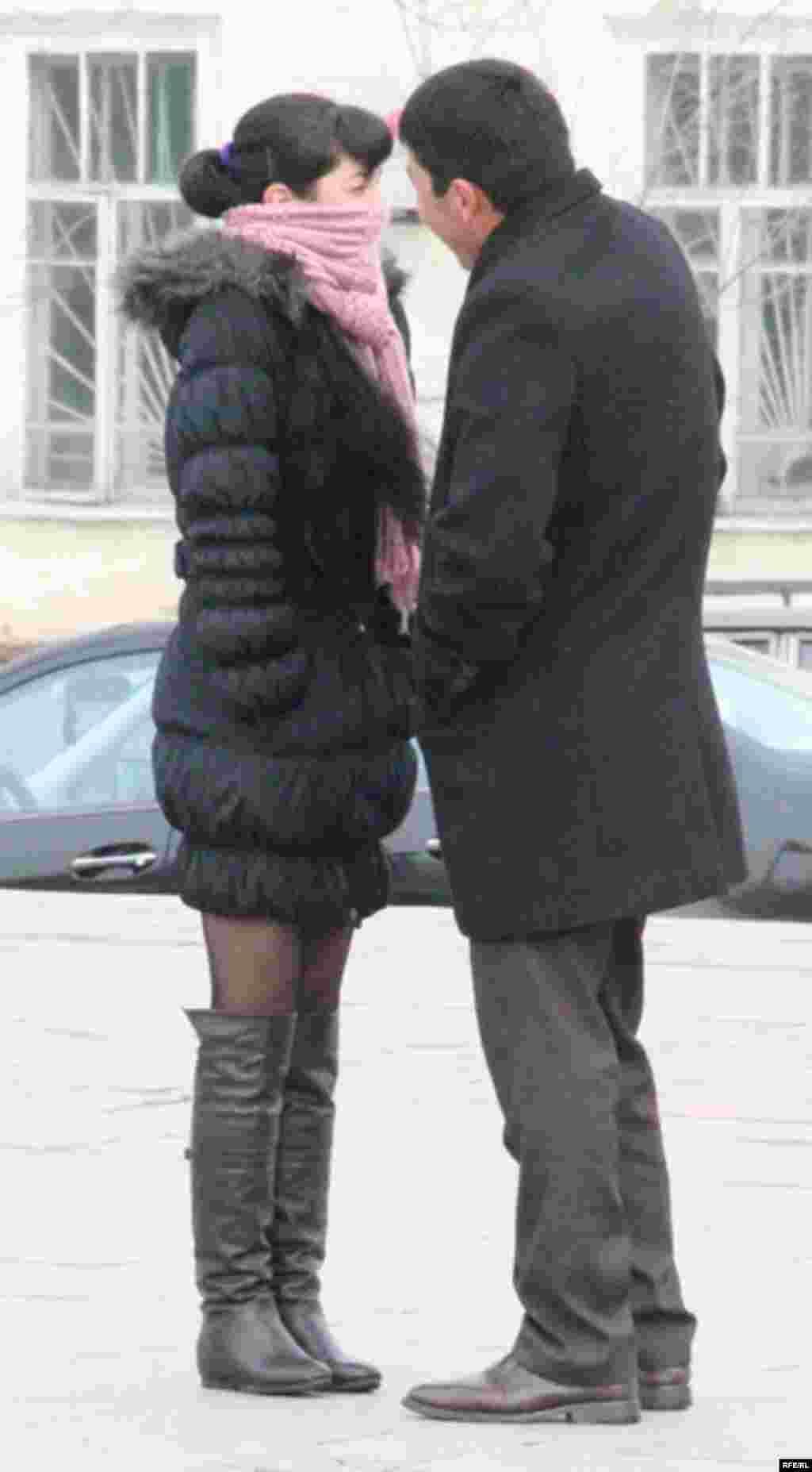 День Святого Валентина в Бишкеке #13