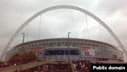 Лондонський стадіон Wembley сьогодні прийматиме збірні Англії та України