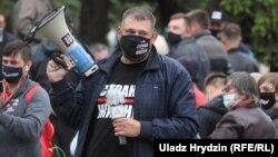"""Пачынальнік ідэі """"Краіны для жыцьця"""" Сяргей Ціханоўскі"""