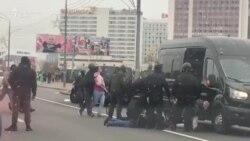 Reprimare violentă a protestelor din Belarus: tunuri cu apă și peste 500 de rețineri