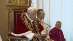 Pope Benedict XVI Announces Resignation
