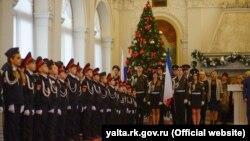 ИЛЛЮСТРАЦИЯ – учащиеся кадетских классов примут присягу в Ливадийском дворце
