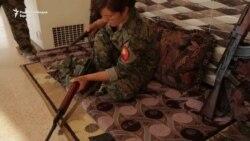 Женски одред во борба против милитантите на ИД