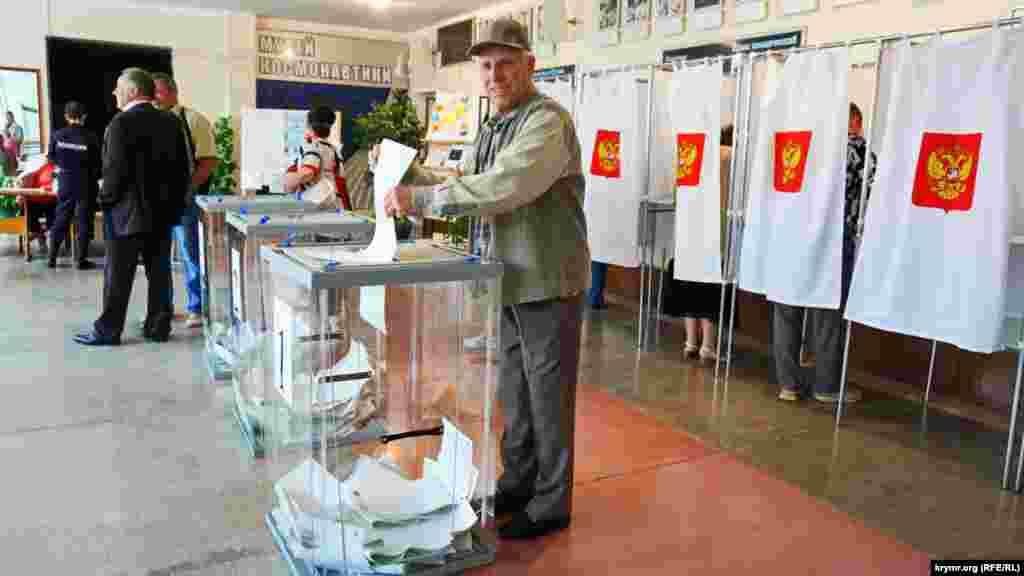 Симферопольский избирательный участок №359 в Космическом лицее