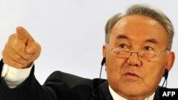 Қазақстан президенті Нұрсұлтан Назарбаев. Астана, 3 желтоқсан 2010 жыл.
