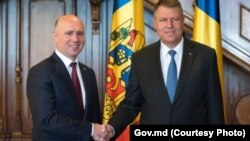 Întâlnirea preşedintelui României Klaus Iohannis cu premierul moldovean Pavel Filip din 26 ianuarie 2016, Bucureşti