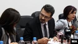 Прес-конференција претседателот на Судскиот совет, Зоран Караџовски во Скопје