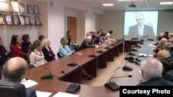 Обнинск. Совещание в филиале Физико-химического НИИ