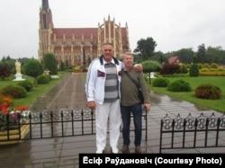 Ёсіф Раўдановіч і Анатоль Кашапараў
