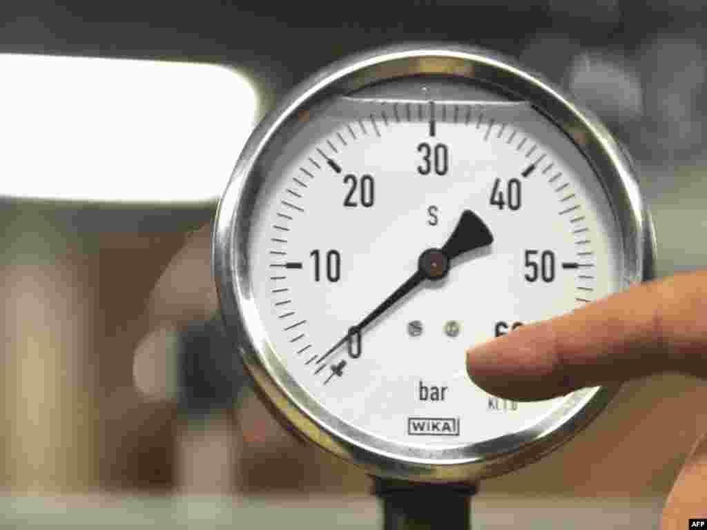 BiH - Sarajevo - Uređaji Sarajevo Gasa pokazuju nulu - bez plina i grijanja počela je 2009-a godina.