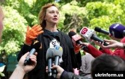 Українська акторка і телеведуча Римма Зюбіна (архівне фото)