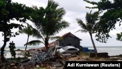 خسارات ناشی از سونامی در اندونیزیا