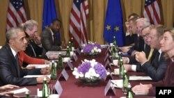 Susret Baraka Obame i Donalda Tuska u Varšavi