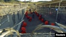 Тюрьма Гуантанамо в США.
