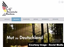 Platforma patriotardă a ideologului Hans-Thomas Tillschneider