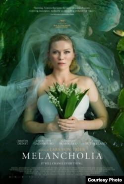Lars fon Trierin ''Melanxoliya'' filminin posteri.