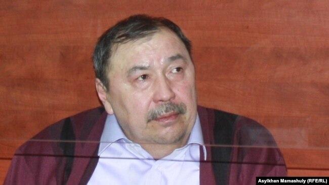 Ержан Өтембаев сот залында. Алматы облысы, 22 қаңтар 2014 жыл.