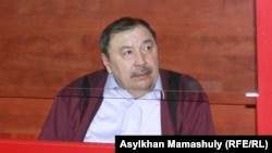 Ержан Утембаев, бывший руководитель аппарата сената парламента. Каскелен, 22 января 2014 года.