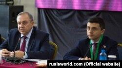 Руслан Бальбек (п) и Георгий Мурадов