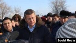 Радий Хабиров встретился с жителями Сибая 15 января