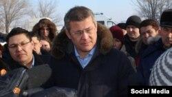 Радий Хабиров в Сибае