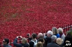 11 ноября в Великобритании – День поминовения жертв Первой и Второй мировых войн