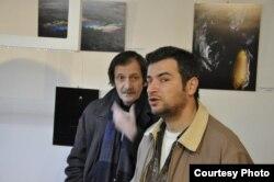 Nazim Şah və Fərhad Xəlilov (solda)